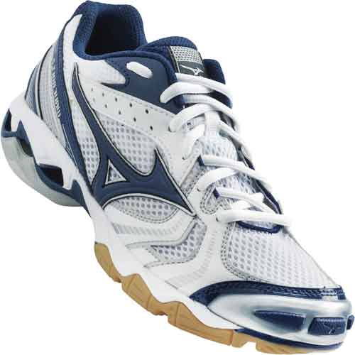 Mizuno Lightning Bolt 2 Womens Volleyball Shoes - Navy Blue