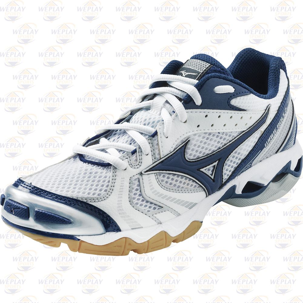 f904fc80ef8e4 ... Mizuno Wave Bolt 2 Womens Volleyball Shoes - Pebax Parallel Wave  Cushioning ...