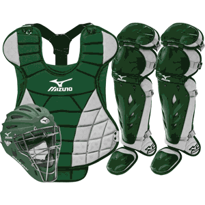Mizuno Samurai Womens Fastpitch Catchers Gear Set - Green