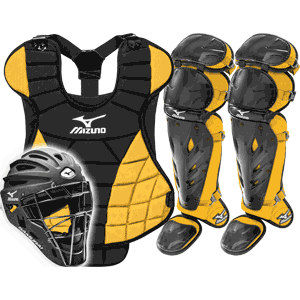 Mizuno Samurai Womens Fastpitch Catchers Gear Set - Gold