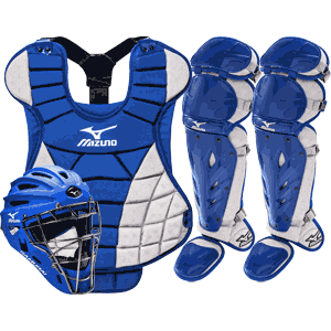 Mizuno Samurai Womens Fastpitch Catchers Gear Set - Royal Blue