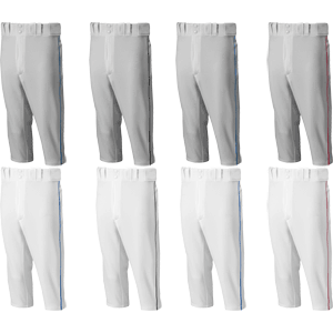 Mizuno Premier Knicker Short Piped Youth Baseball Pants