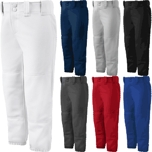Mizuno Select Belted Low Rise Womens Fastpitch Pants