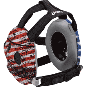 ASICS Unrestrained Sublimated Wrestling Headgear