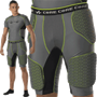 Alleson Athletic Core Hexagon Integrated 5 Pad Football Girdle