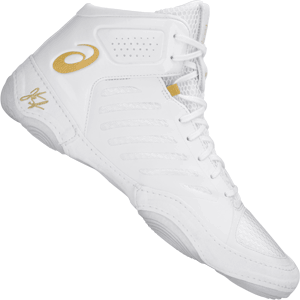 Asics JB Elite 3 Wrestling Shoes White
