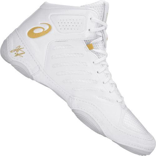 5d7f5c0ccf5cf9 Asics JB Elite 3 Wrestling Shoes White