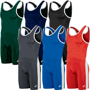 Asics T-Back Performance Wrestling Singlets - Available in 6 Colors