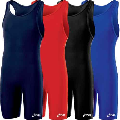 ASICS Solid Modified Wrestling Singlet - Available in 4 Solid Colors