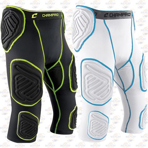 Champro Sports Bull Rush 7 Pad Integrated Youth Football Girdle