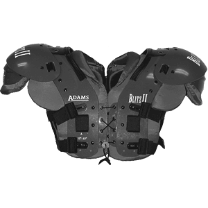 Adams Blitz II Multi-Purpose Football Shoulder Pads