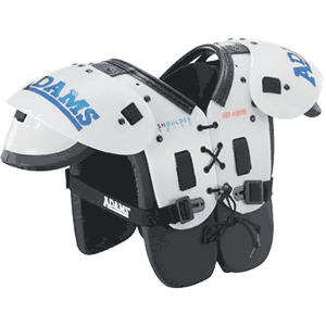 Adams ASP Youth Boys Football Shoulder Pads