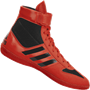 adidas Combat Speed 5 Wrestling Shoes - Red Black