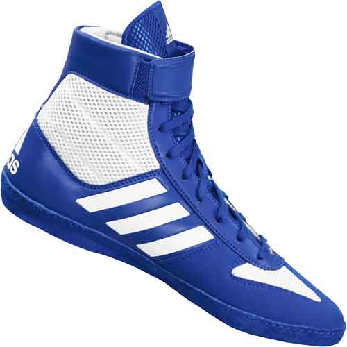adidas Combat Speed 5 Wrestling Shoes - Blue