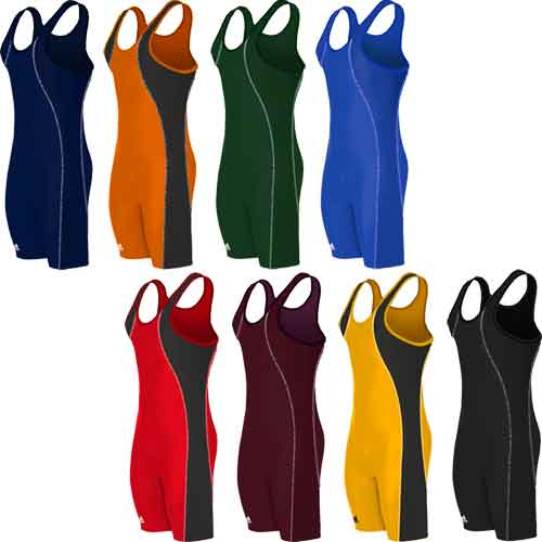 adidas Contrast Stitch Wrestling Singlet - Available in 8 Colors