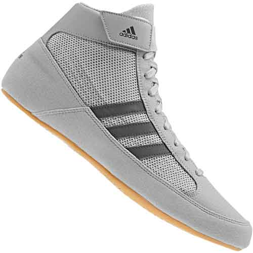 huge discount bfac4 a56be adidas HVC 2 Youth Wrestling Shoes - Onyx Gray ...