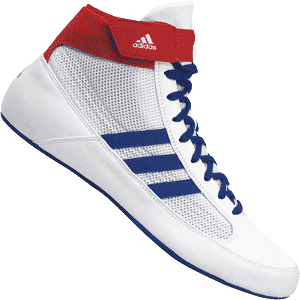 adidas HVC 2 Wrestling Shoes White
