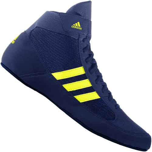 adidas HVC 2 Youth Wrestling Shoes Blue