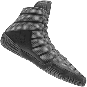 adidas adiZero Varner Wrestling Shoes - Onyx Gray