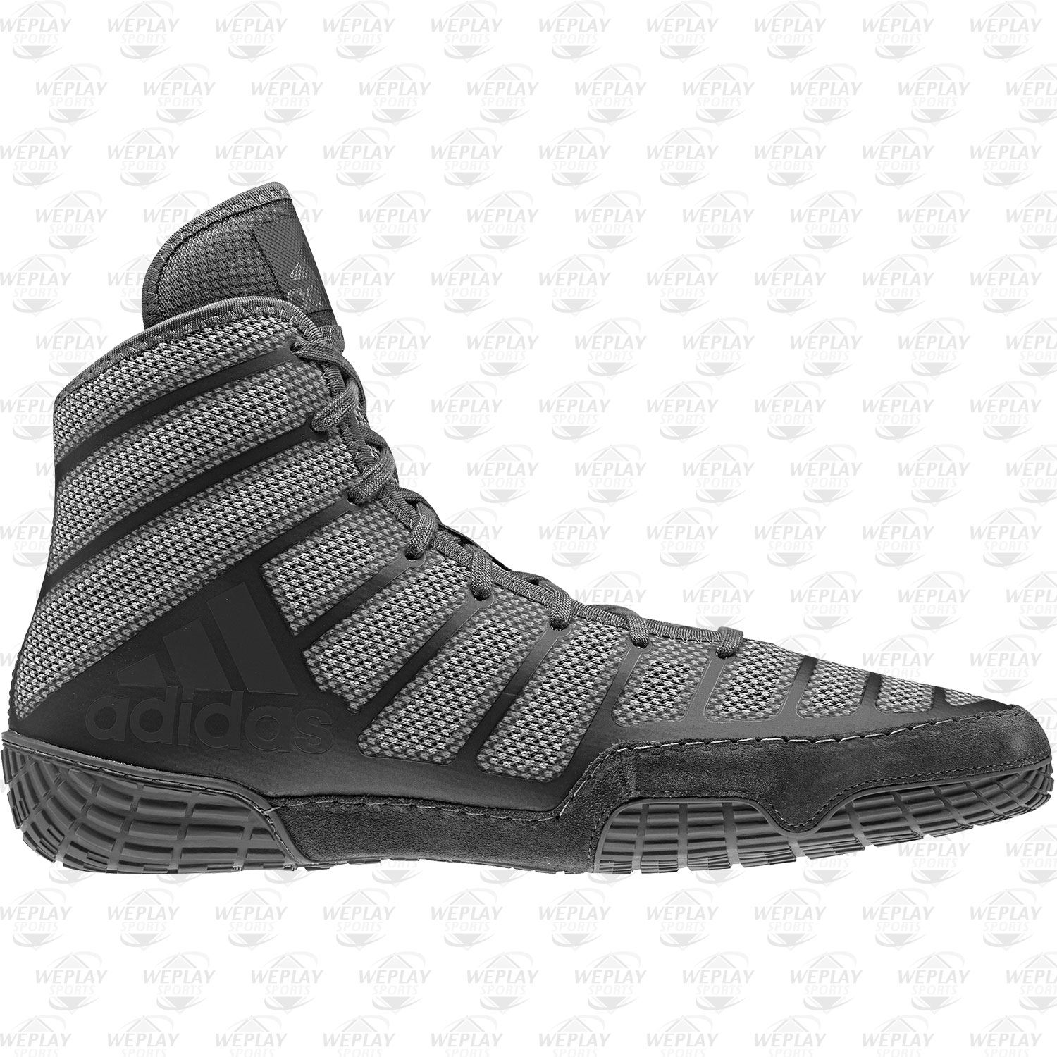 adidas adizero varner wrestling shoes - grey-black-gold - 14