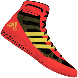 adidas Mat Wizard 3 Wrestling Shoes - Energy Red
