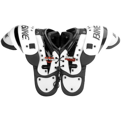 Bike Athletic Rattler Youth Boys General Purpose Football Shoulder Pads w. Extended Sternum