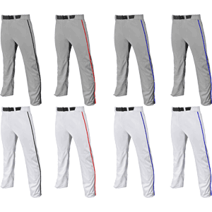Champro Sports Triple Crown Open Bottom Adjustable Youth Baseball Pants w. Piping