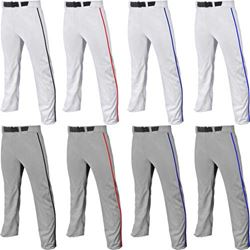 Champro Sports Triple Crown Open Bottom Adjustable Baseball Pants w. Piping