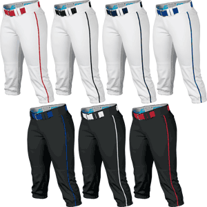 Easton Prowess Womens Piped Fastpitch Softball Pants