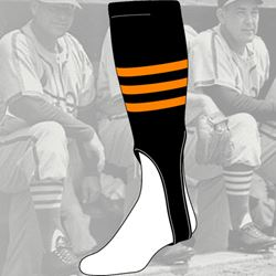 TCK 3 Stripe Womens Fastpitch Stirrup Socks