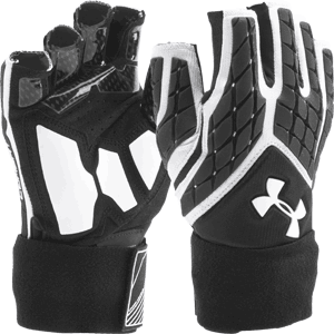 Under Armour Combat V Half Finger Football Linemen Gloves
