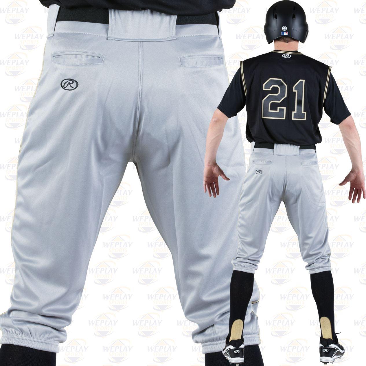 Rawlings Mens Launch Knicker Baseball Pant