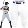 Rawlings BP150K Premium Knee High Fit Knicker Baseball Pants