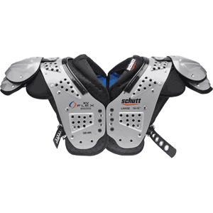 Schutt XV Flex 800305 QB WR Football Shoulder Pads
