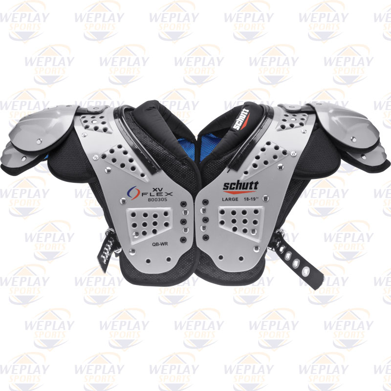 da7705b8233 Schutt XV Flex Quarterback Football Shoulder Pads