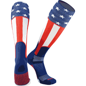TCK Uncle Sam Baseball Socks