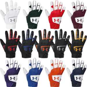 Under Armour Clean Up Baseball Batting Gloves