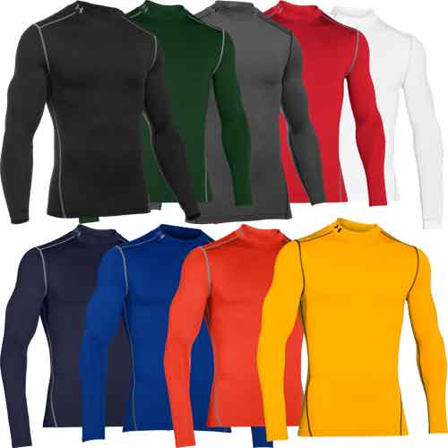 Under Armour ColdGear Compression Mock Shirt