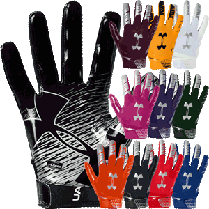 Under Armour F7 Football Gloves