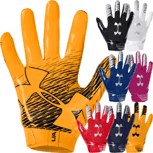 Under Armour F7 Youth Football Gloves