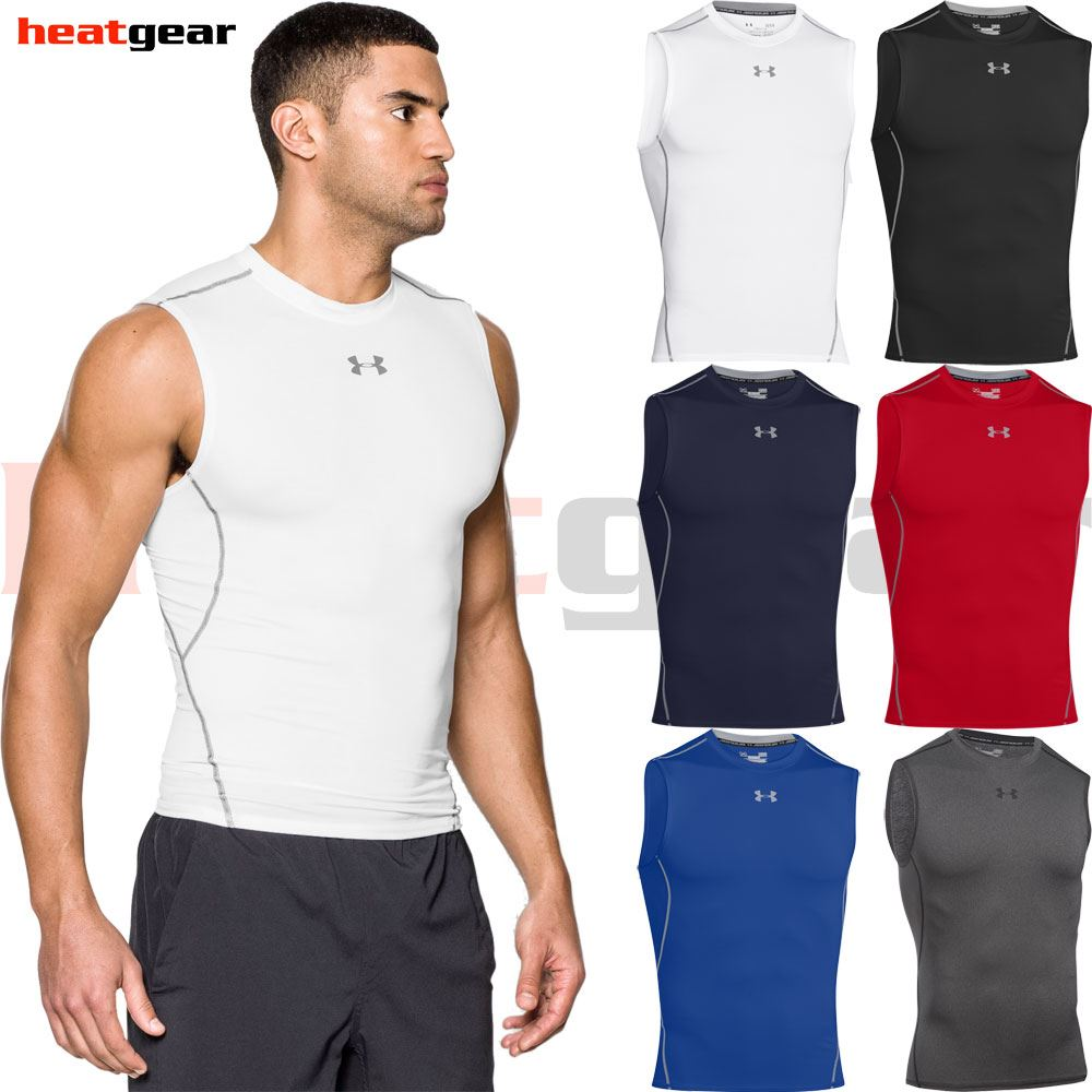 d0389d7c0 Under Armour HeatGear Sleeveless Compression Shirt