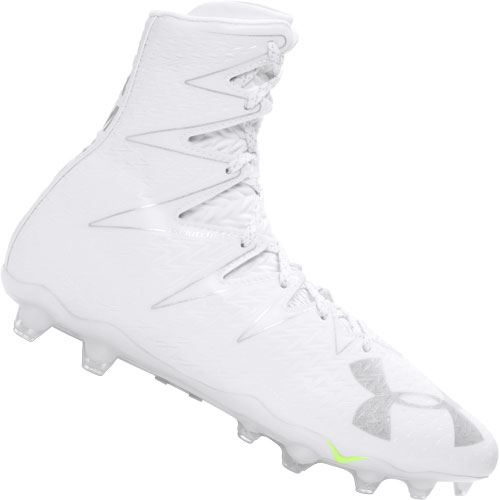 under armour highlight cleats all white