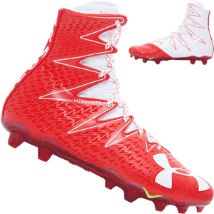 Under Armour Highlight MC Football Shoes Cleats - Red
