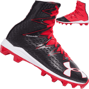 Under Armour Highlight RM Red Football Cleats