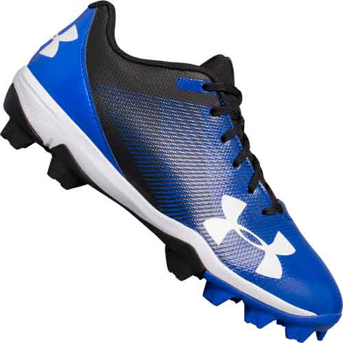Under Armour Leadoff Low RM Jr Youth Baseball Cleats - Blue
