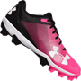Under Armour Leadoff Low RM Jr Youth Baseball Cleats - Cerise Pink