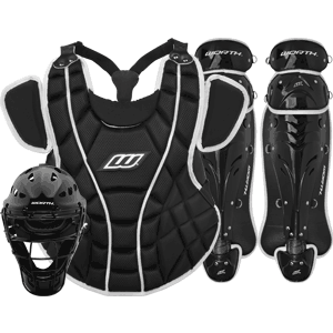 Worth Storm Girls Fastpitch Catchers Gear Set - Black